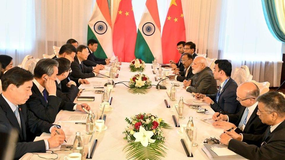 A statement from China's foreign ministry said Xi again congratulated Modi on his re-election and said both the countries should strengthen confidence-building measures and maintain stability in the border areas. (Photo: MEA Twitter)