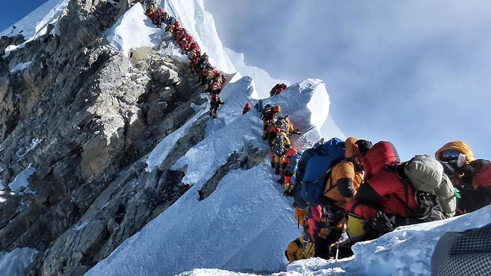 Mt Everest,high altitude sickness,world's tallest peak