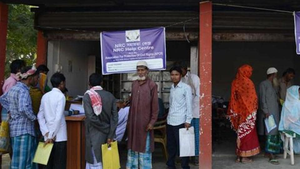 The NRC, which was first prepared in 1951, is being updated in Assam in an effort to weed out illegal immigrants. The first draft released last year had excluded names of 40 lakh applicants. (Representative photo)
