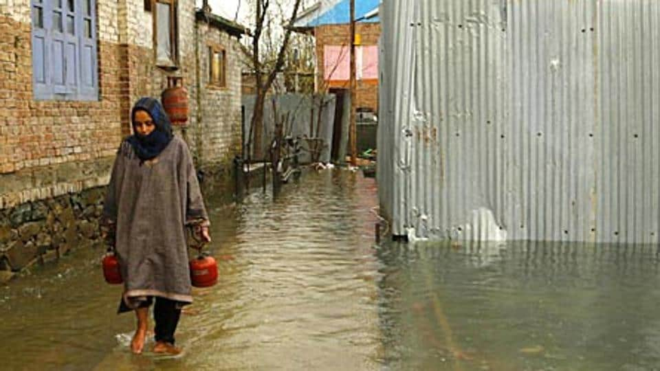 Due to incessant rains in the Kashmir Valley, the waters of the Jhelum river has breached the flood alarm level of 18 feet, authorities said.