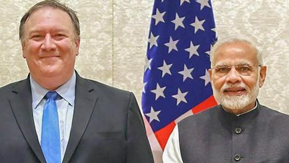 Mike pompeo,Mike pompeo in india,pompeo visit india