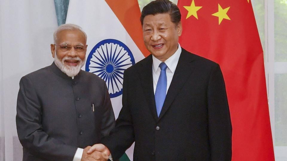 Prime Minister Narendra Modi shakes hands with Chinese President Xi Jinping on the sidelines of the Shanghai Cooperation Organisation (SCO) Summit in Bishkek, Kyrgyzstan, Thursday, June 13, 2019.