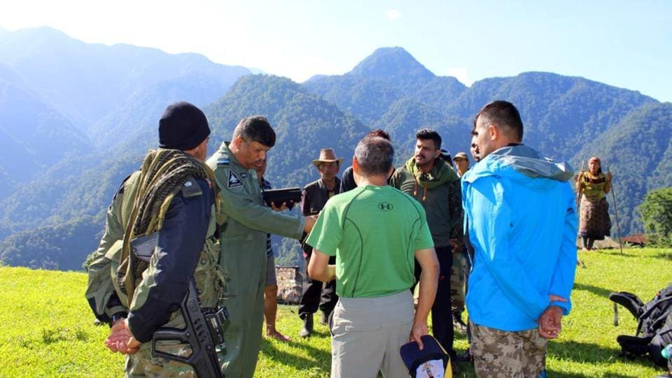 Thirteen military personnel on board the An-32 aircraft that crashed in Arunachal Pradesh on June 3 have died, the Indian Air Force said hours after the first investigation team reached the crash site. Air force and army helicopters had airdropped 15 mountaineers on Wednesday for rescue operations. Eight of them reached the site and transmitted the tragic news. (ANI)
