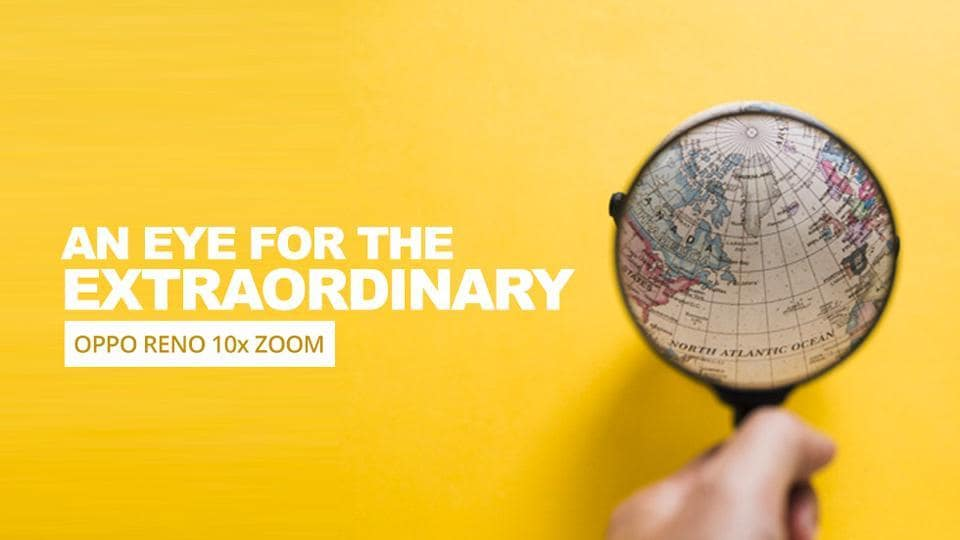 Get closer to the world around you with the OPPO Reno 10x Zoom.