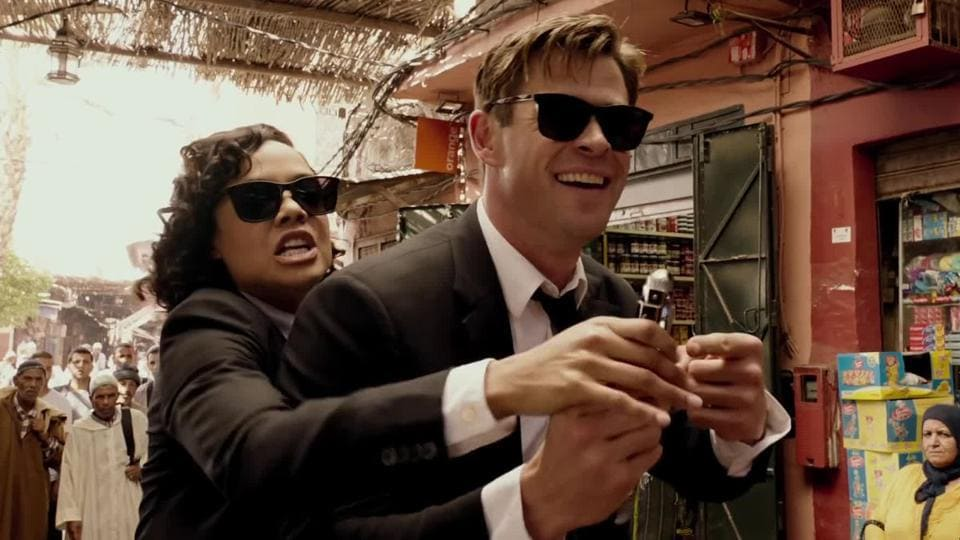 Chris Hemsworth and Tessa Thompson were such uproarious fun in Thor: Ragnarok. They are no fun here.