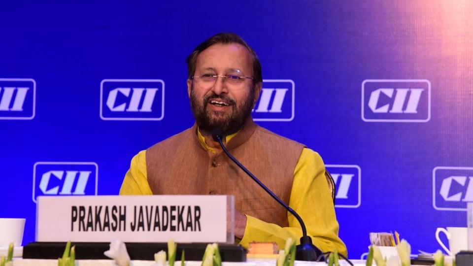 Prakash Javadekar,Ministry of Information,language credit