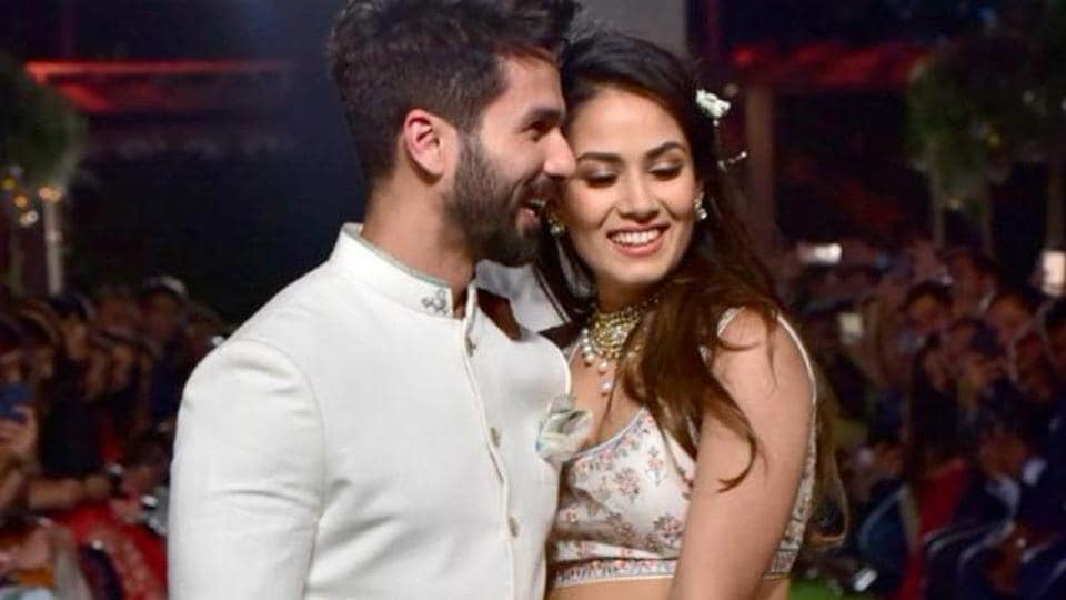 Shahid Kapoor and Mira Rajput tied the knot in 2015.