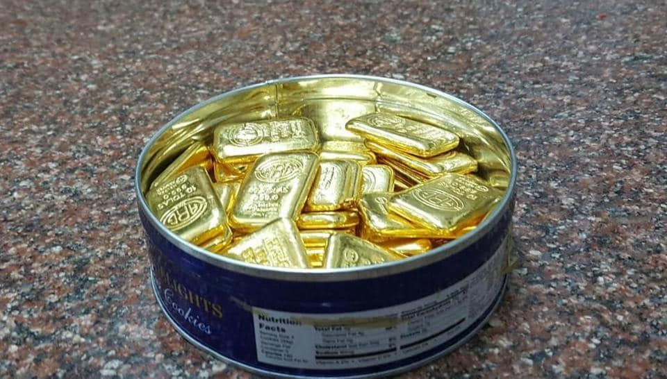 Smugglers tried to get 481.55 kg gold through the Mumbai airport since April 2018.