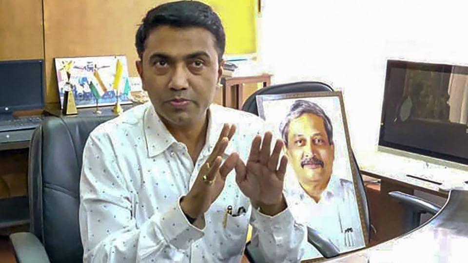 Goa CM,Pramod Sawant,delayed Air India flight