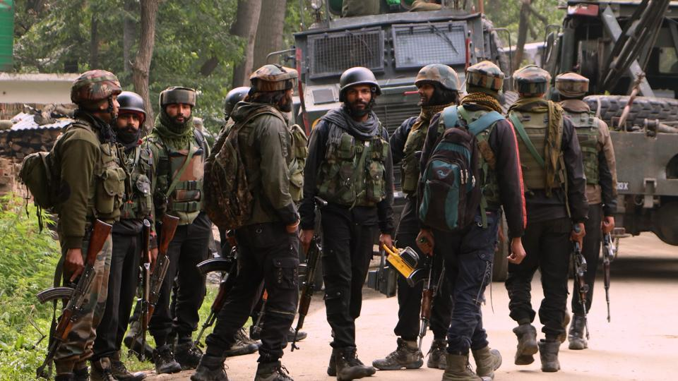 Two militants were killed in an encounter with security forces in Jammu and Kashmir's Pulwama district on Friday, police said. According to a police official, security forces had launched a cordon and search operation in Braw Bandina area of Awantipora in the district in south Kashmir after receiving intelligence input about presence of militants in the area. (ANI File)