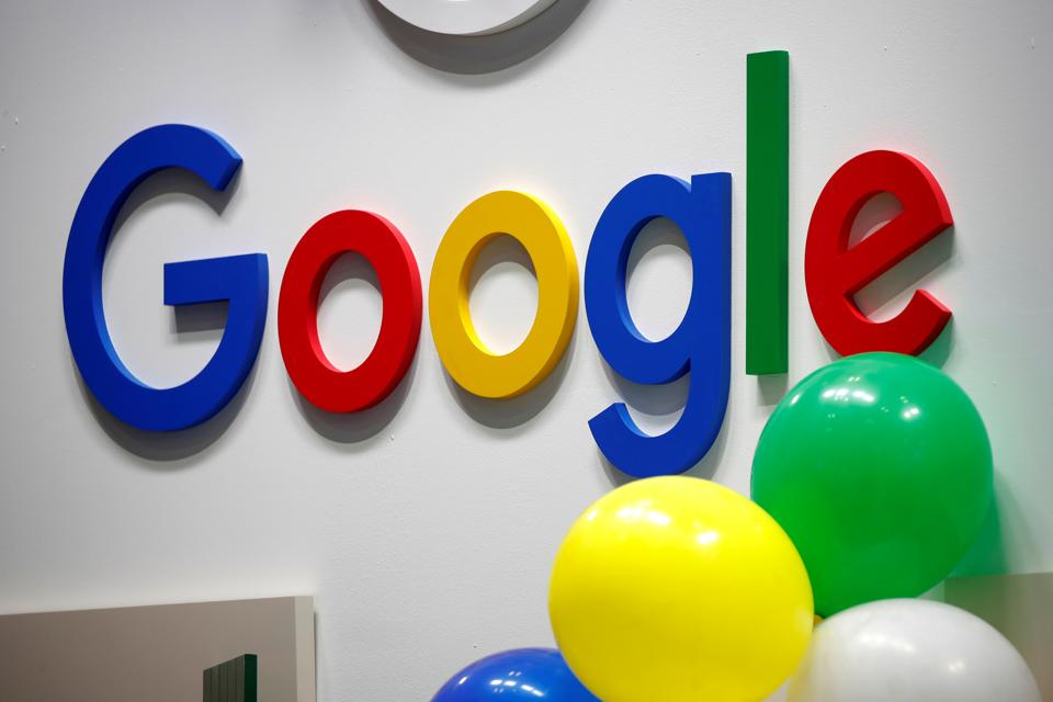Google's logo is seen at Viva Tech fair in Paris, France May 16, 2019.