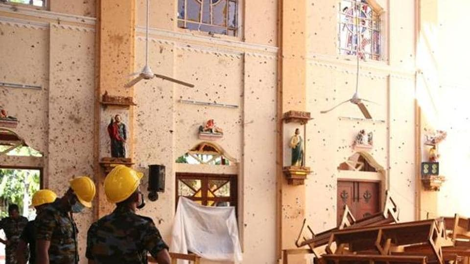 Easter bombings,Sri Lanka Catholics,restored church