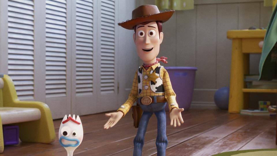 This image provided by Disney/Pixar shows a scene from the movie Toy Story 4. (Disney/Pixar via AP)