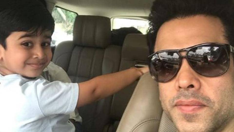 Tusshar Kapoor,Tusshar Kapoor son,Fathers Day