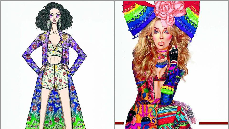 I am my pride: Fashion designers sketch their Pride vision in rainbow hues