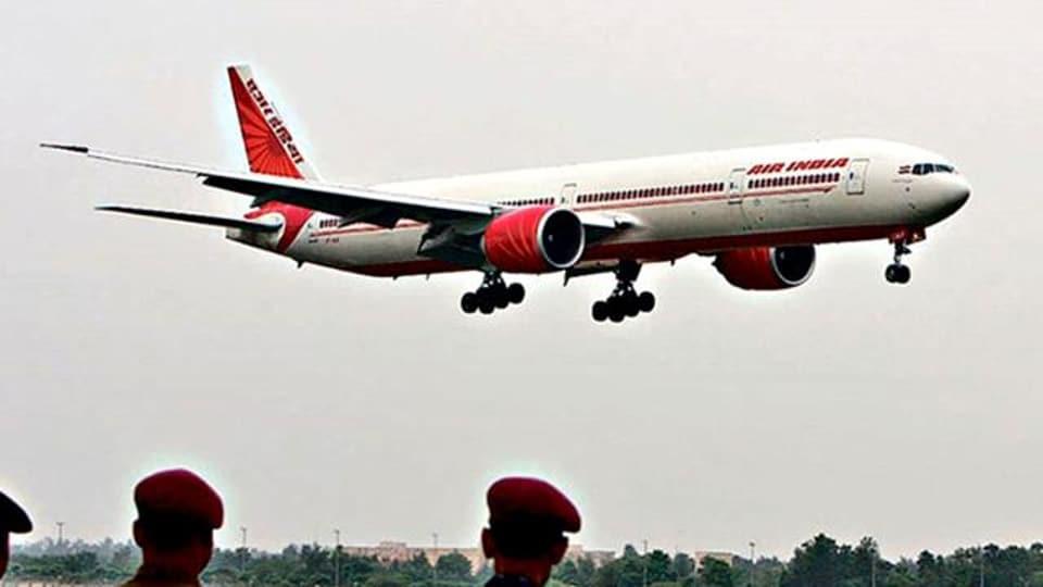 Air India,operational profit,international flights