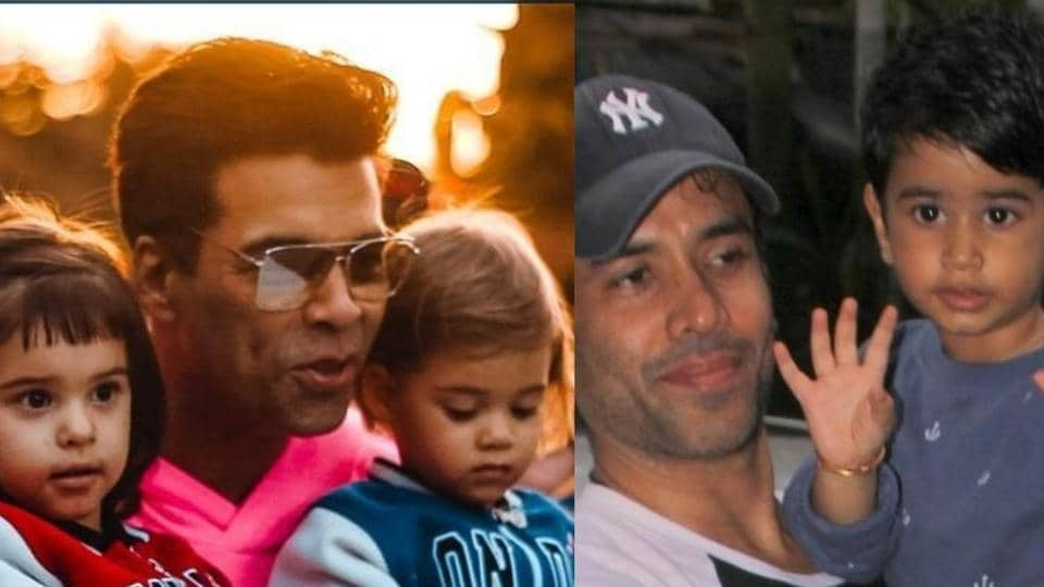 Celebrating single dads of Bollywood this Fathers' Day.