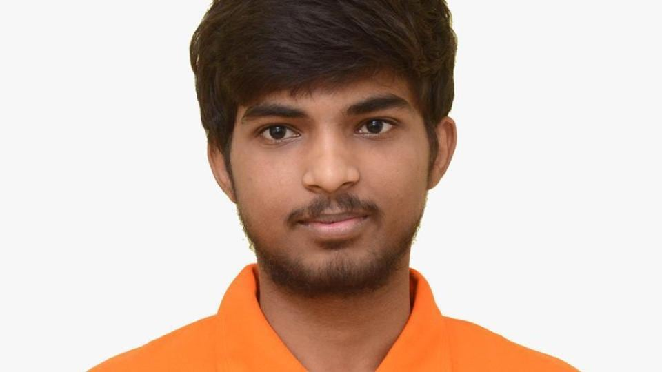 Pawan toper in IIT from Bihar India on Friday June 14,2019.