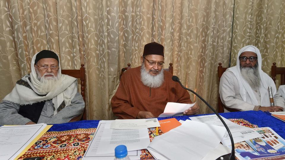 The All India Muslim Personal Law Board (AIMPLB) is in favour of an amicable and peaceful settlement at the earliest, a member of the delegation said.