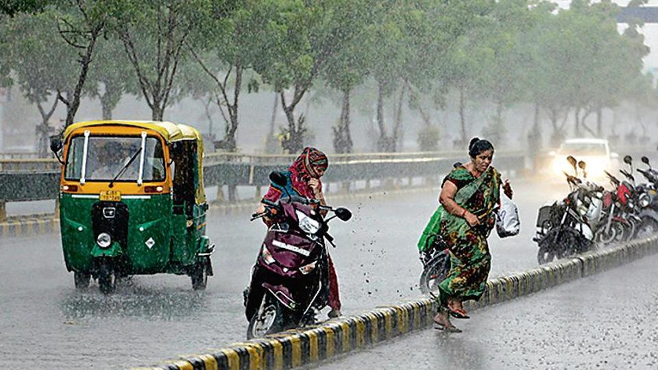 Cyclone Vayu, which brought rain to some parts Gujarat, halted the progress of the monsoon to other parts of the country.