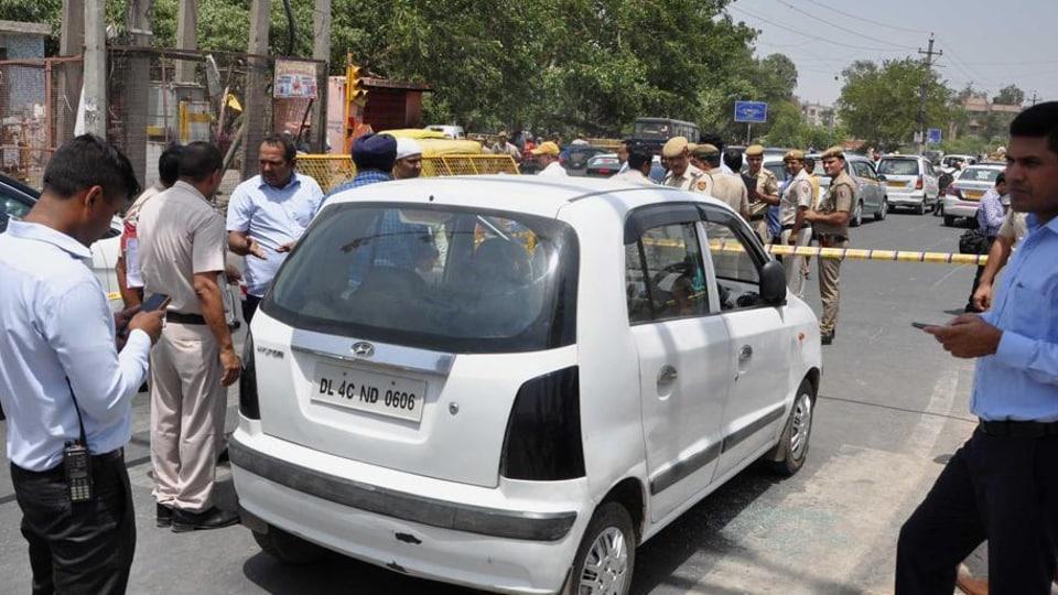 Delhi crime,Shots fired,shooting incident