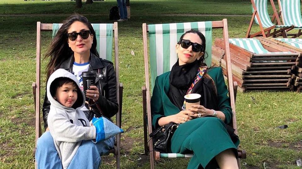 Kareena Kapoor,Karisma Kapoor,Taimur