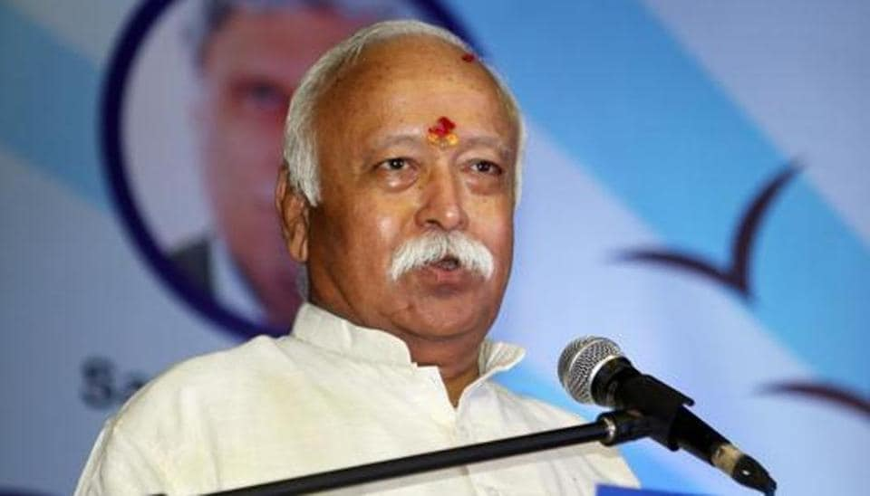 RSS chief Mohan Bhagwat referred to reports of violence from West Bengal and criticised the acrimony between political parties that has continued even after the polls.