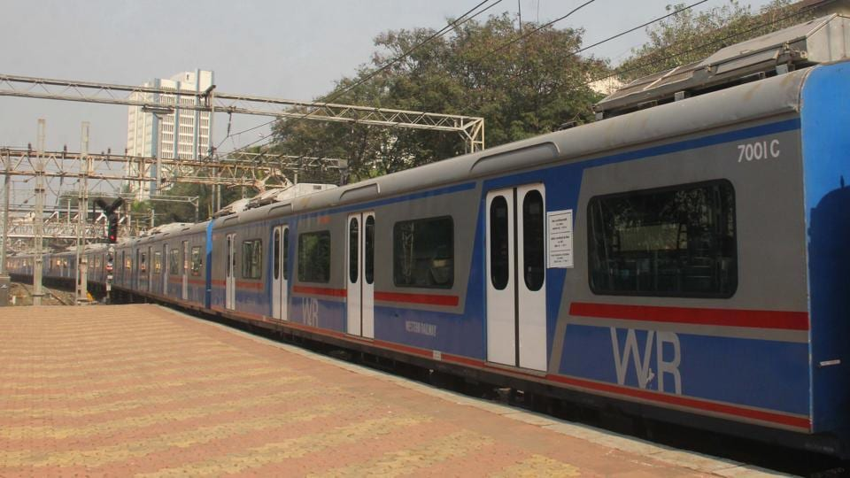 Mumbai train AC,WR,Western Railway