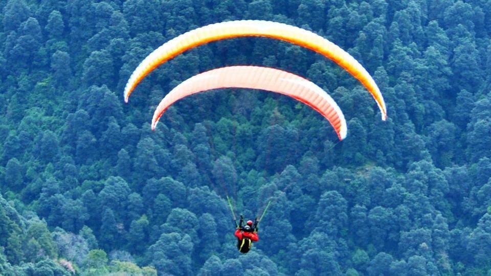 Singaporean paraglider,pilot missing,Himachal
