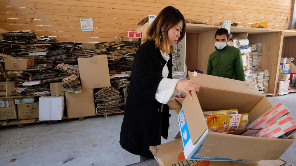 Photos: The Japanese town trying to recycle 100% of its