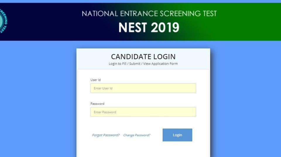 NEST Result 2019 declared at nestexam.in, here's direct link to check