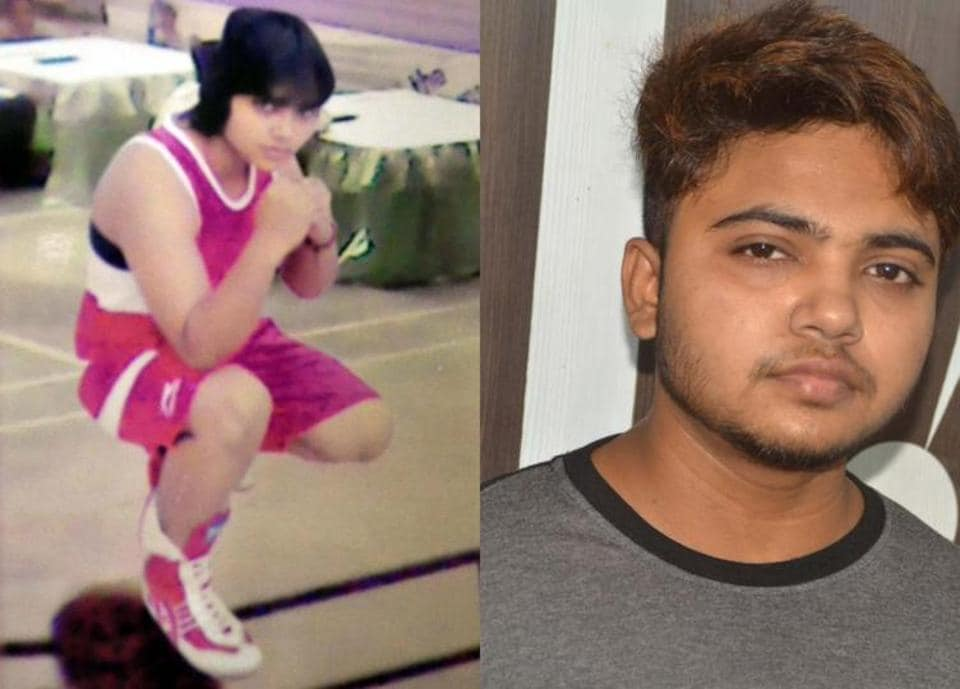 Priyanka Pal before and after gender change surgery.