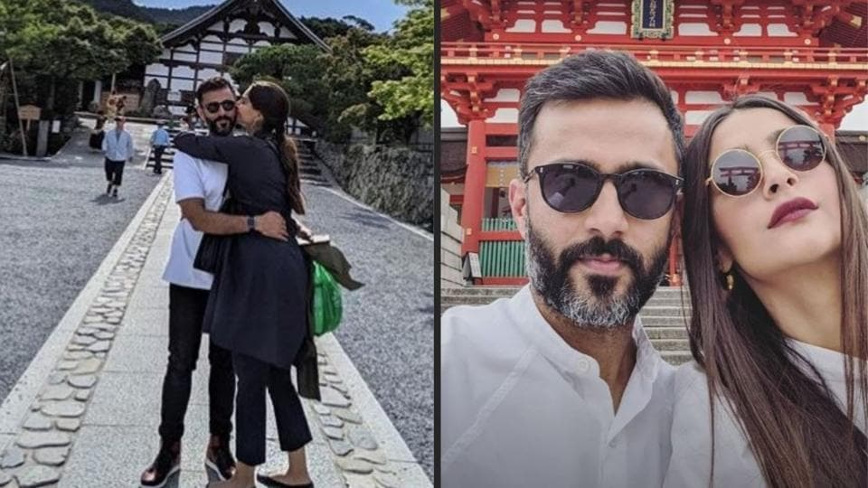 Sonam Kapoor, husband Anand Ahuja's vacation pics from Japan prove they are every Indian tourist ever
