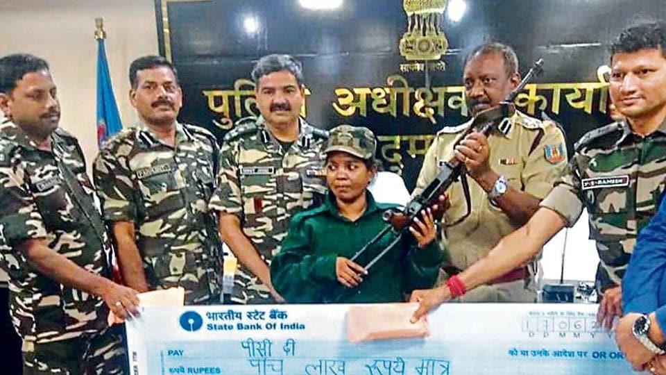maoists surrender in jharkhand,dumka,jharkhand news