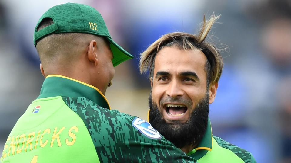 ICC World Cup 2019: Imran Tahir two wickets away from scripting WC history for South Africa