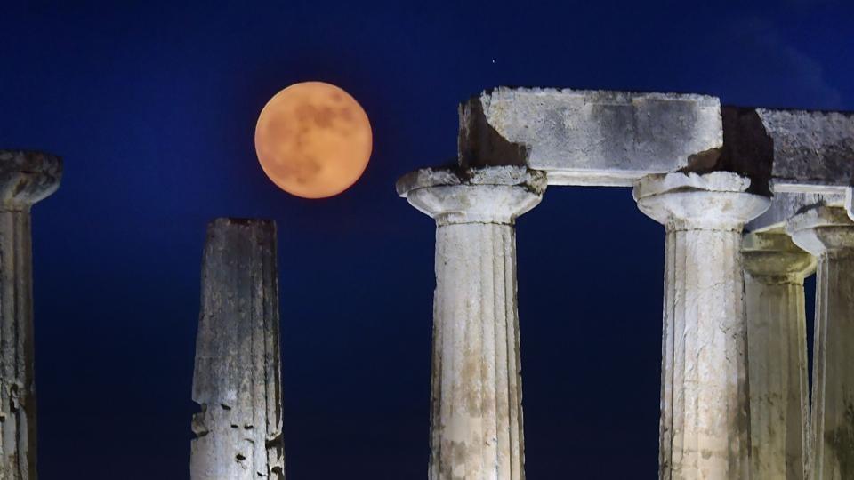 Sun's history hidden in Moon's crust: NASA | world news