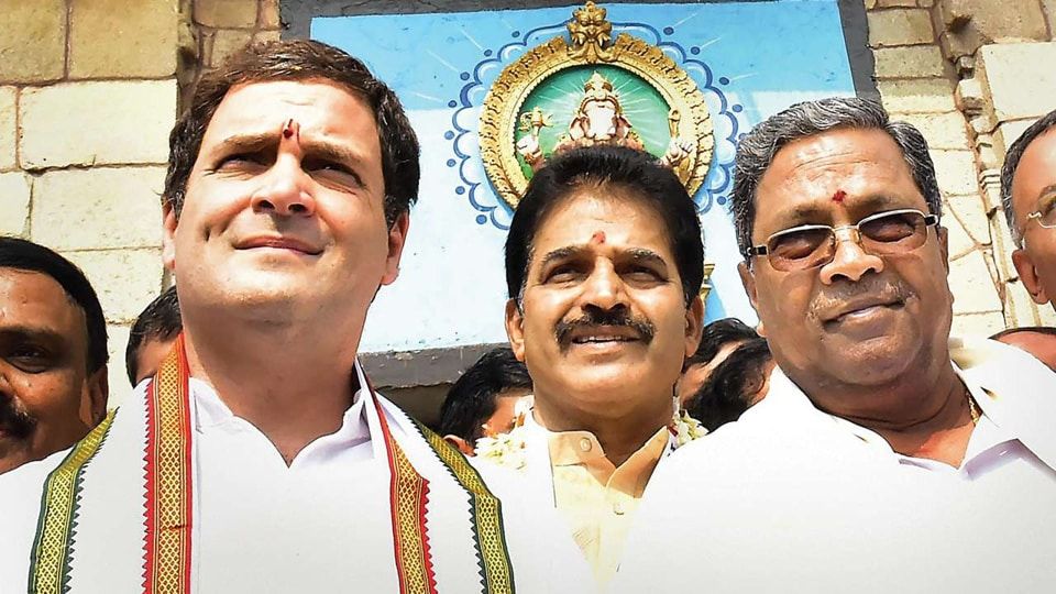 Voices of dissent have been growing in the Karnataka Congress for some time now due to differences over the functioning of the coalition government in the state.