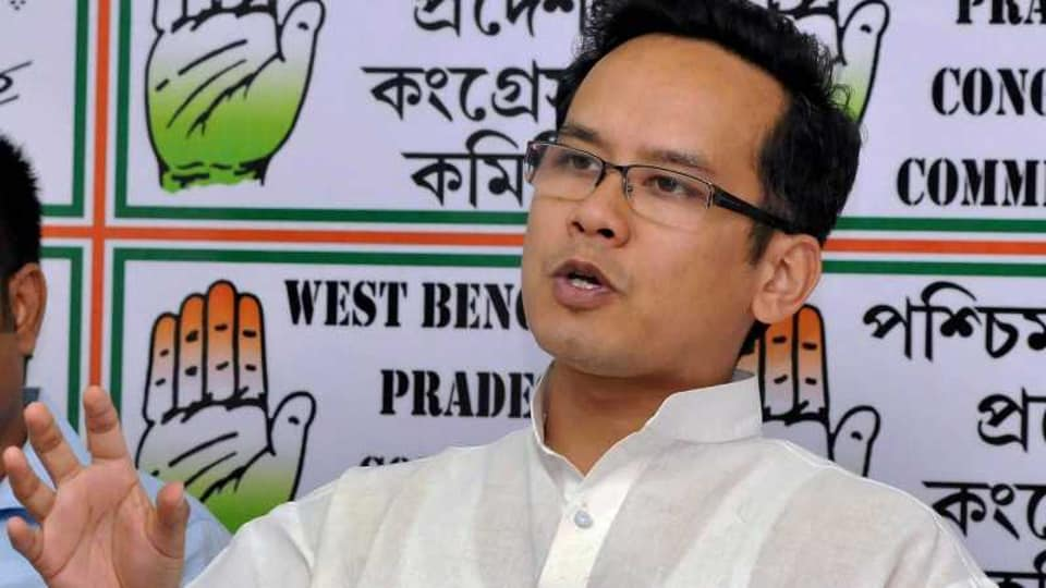 Not attending, says Congress's Gaurav Gogoi on PM Modi's all party meet today