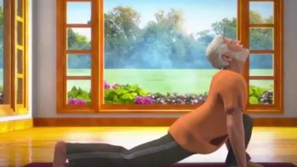'Have you made Surya Namaskar part of routine?': PM Modi tweets new yoga video