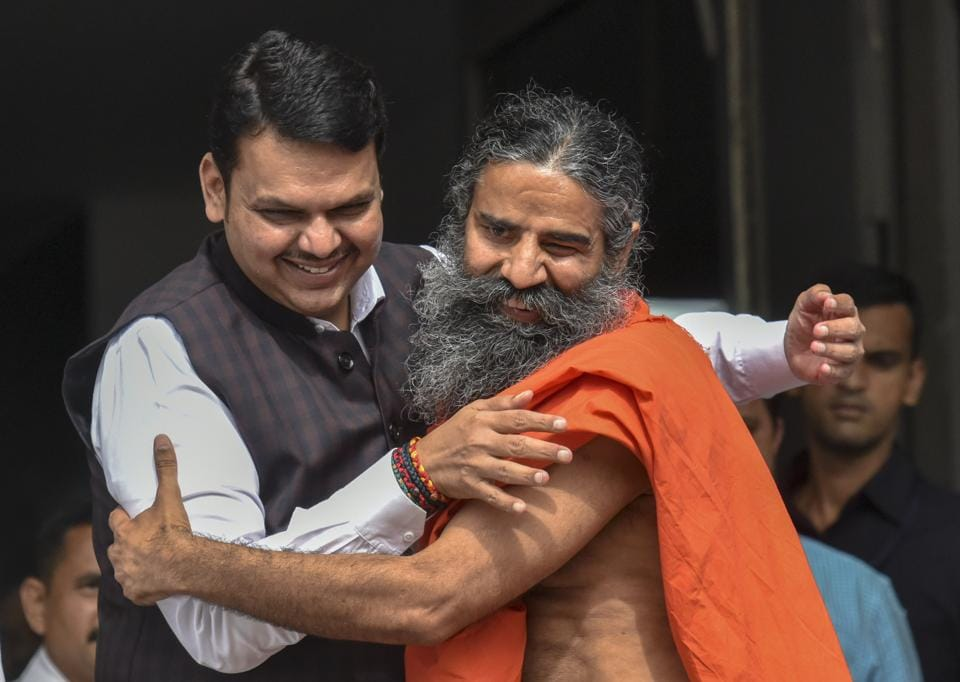 The BJP-led Maharashtra government has invited Yoga guru Ramdev, the promoter of Patanjali group, to set up a unit on an unused chunk of land in Latur district