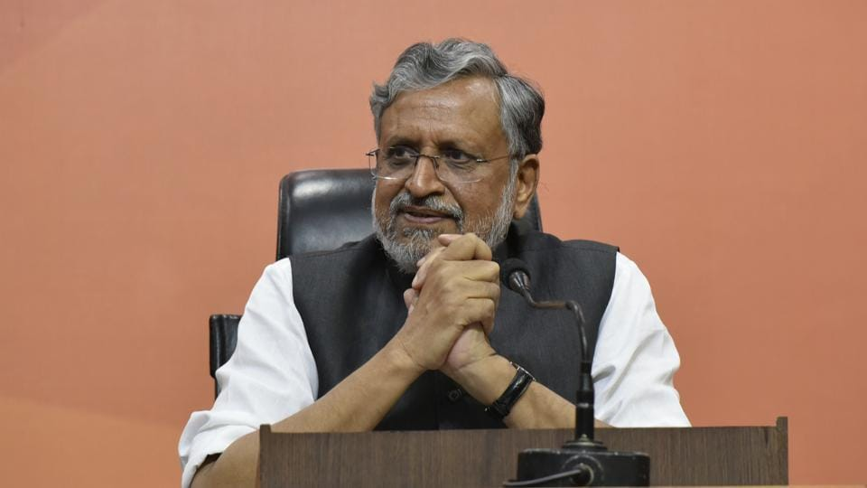 Sushil Kumar Modi BJP opposition leader was addressing media about the non-performing assets (NPA) crisis in the state and the performance of banks in the last financial year.