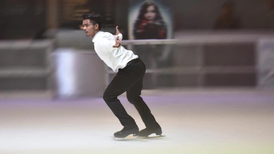 national figure skating event,skating,gurugram