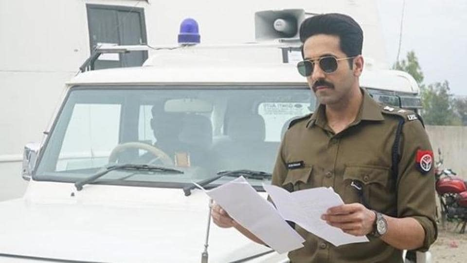 Ayushmann Khurrana in a still from his new film,Article 15.