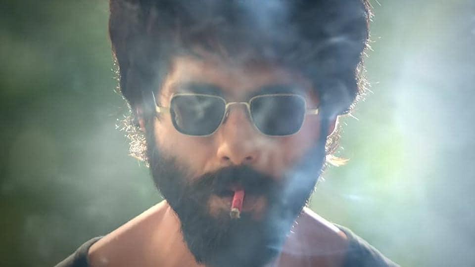 Shahid Kapoor in a still from Kabir Singh.