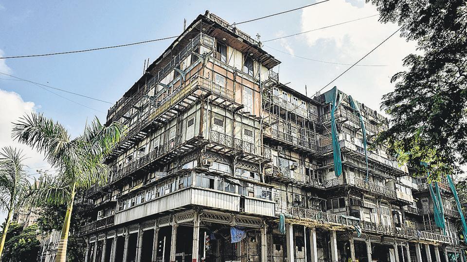 Esplanade Mansion,renovation work,south mumbai