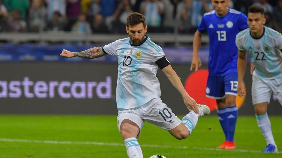 Copa America,Lionel Messi,Argentina vs Paraguay