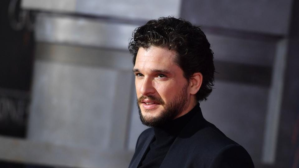 In this file photo taken on April 03, 2019 British actor Kit Harington arrives for the Game of Thrones eighth and final season premiere at Radio City Music Hall in New York city.