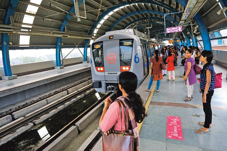 delhi metro,free metro ride,women free metro