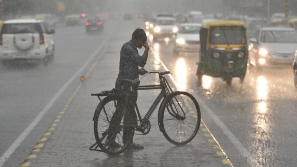 Rain,Gurugram,air quality