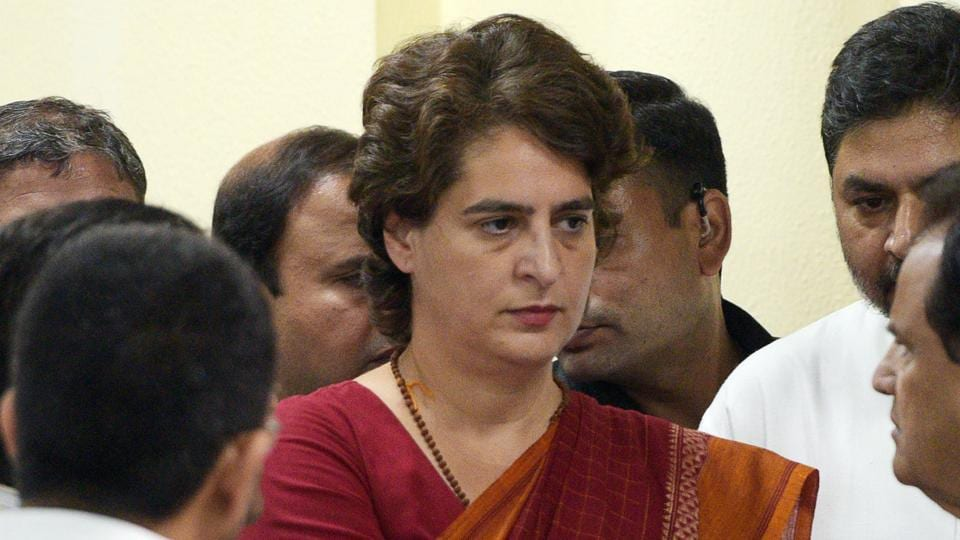 'Those in power have closed their eyes': Priyanka Gandhi targets UP government over crime against women